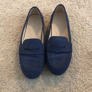 Like New! Cole Haan blue loafers!